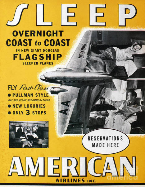 Photograph - American Airlines, 1936 by Granger