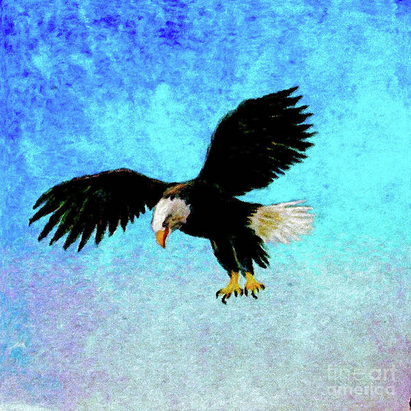 Wall Art - Painting - American Bald Eagle by Jerome Stumphauzer