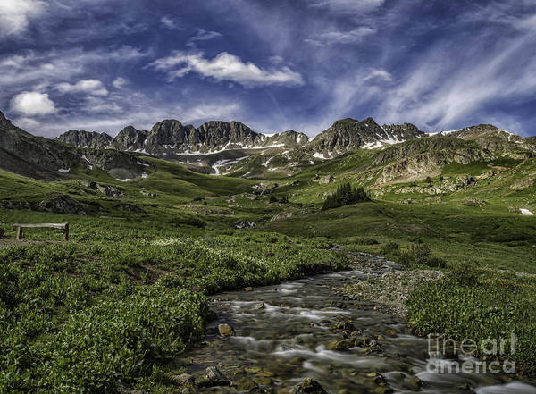 Photograph - American Basin Trail Head by Bitter Buffalo Photography