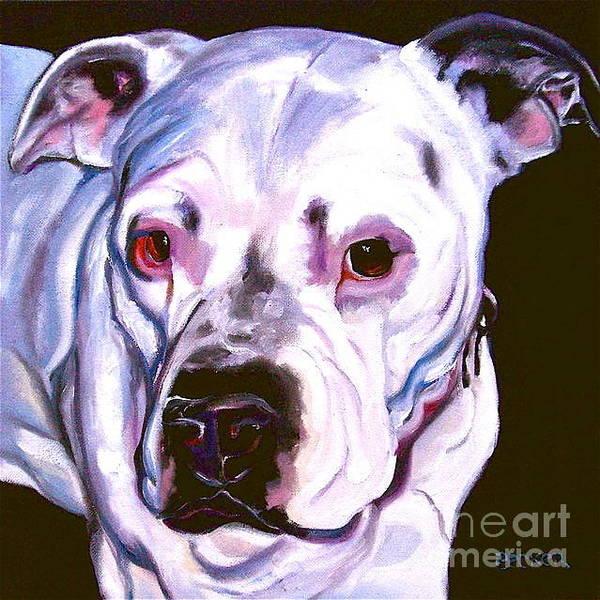 Painting - American Bulldog by Susan A Becker