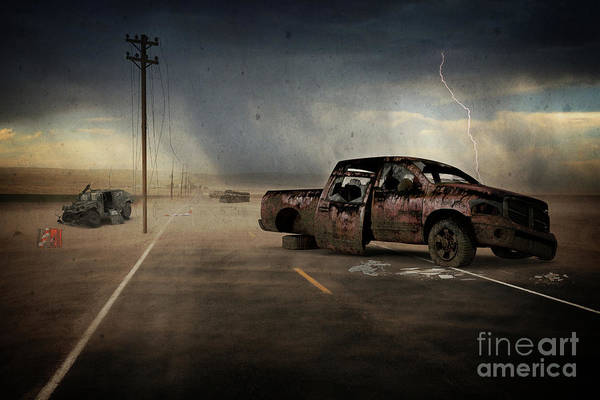 Wall Art - Digital Art - American Carnage by Edward Fielding