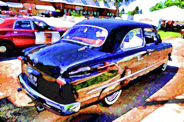 Custom Truck Painting - American Classic Car 10 by Jeelan Clark