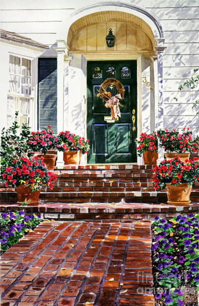 Doorways Painting - American Classic by David Lloyd Glover