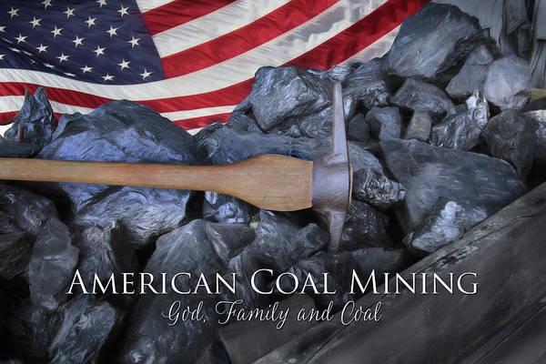 Wall Art - Photograph - American Coal Mining by Lori Deiter
