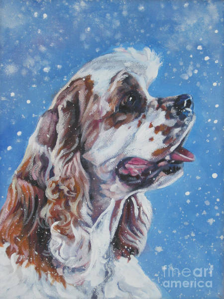 Cocker Spaniel Painting - American Cocker Spaniel by Lee Ann Shepard