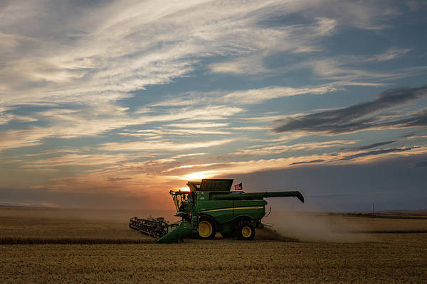Wall Art - Photograph - American Combine by Todd Klassy