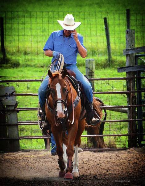 Photograph - American Cowboy by Coleman Mattingly