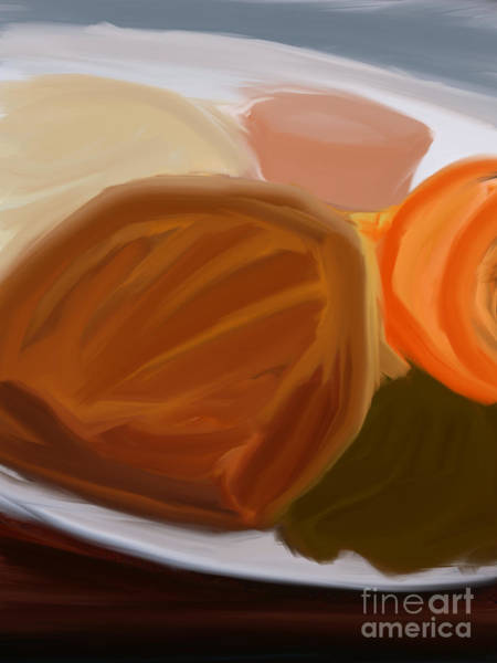 Protein Painting - Surprise Dinner by Ivan Tee