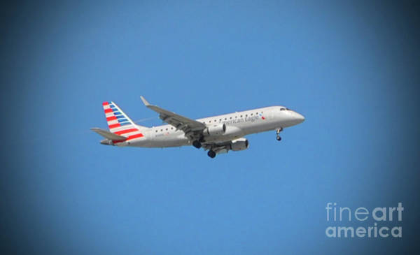 Photograph - American Eagle Airlines by Jost Houk