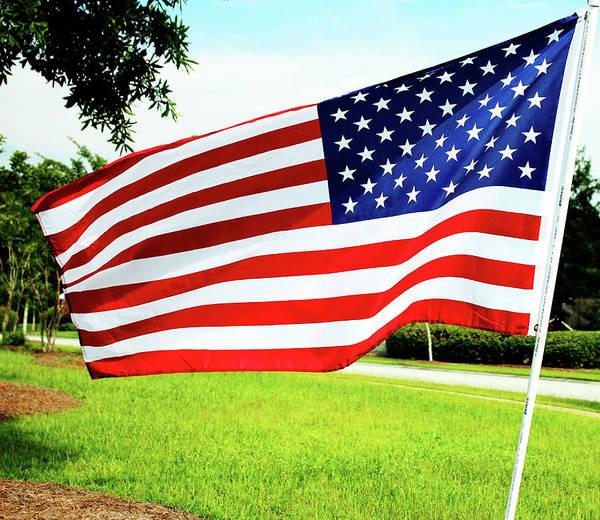 Photograph - American Flag by Cynthia Guinn