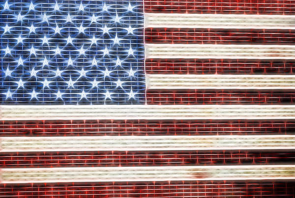 Photograph - American Flag Usa   by Terry DeLuco