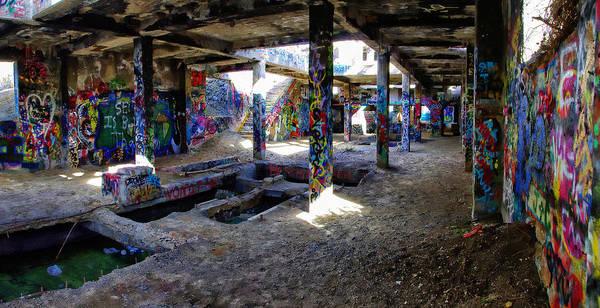 Wall Art - Photograph - American Flat Mill Basement Virginia City Nevada by Scott McGuire