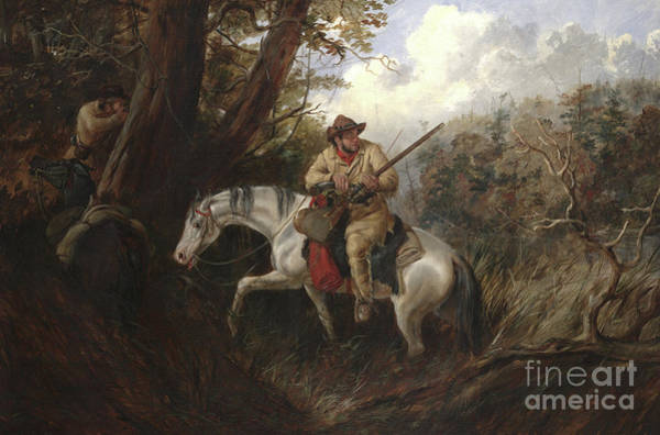 Wall Art - Painting - American Frontier Life by Arthur Fitzwilliam Tait
