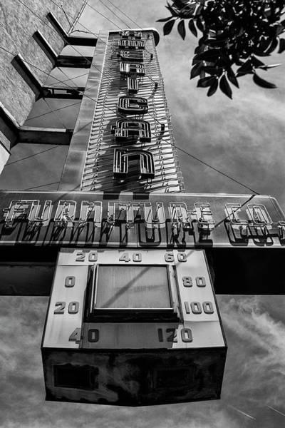 Downtown El Paso Photograph - American Furniture Company by Ron Regalado