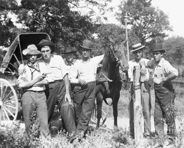 Photograph - American Gang, C1900 by Granger