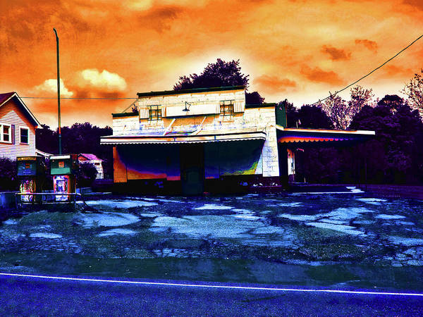 Wall Art - Photograph - American Gas by David A Brown
