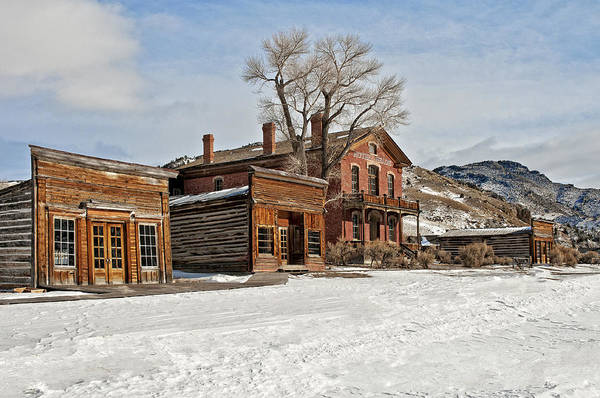 Photograph - American Ghost Town by Scott Read