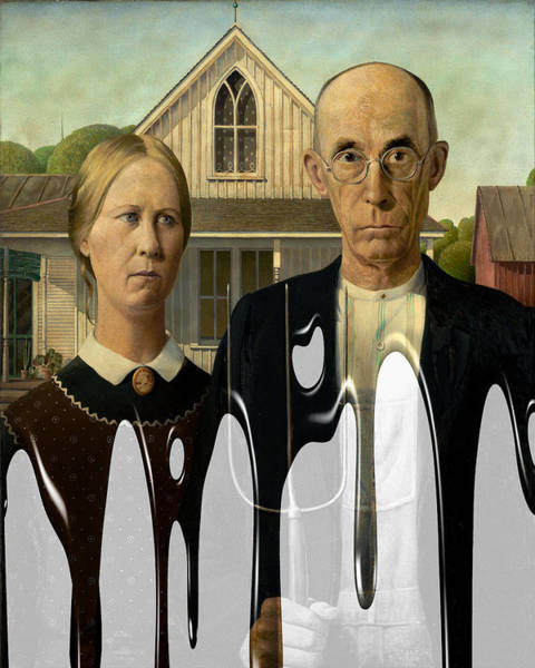 Photograph - American Gothic 2 by Andrew Fare