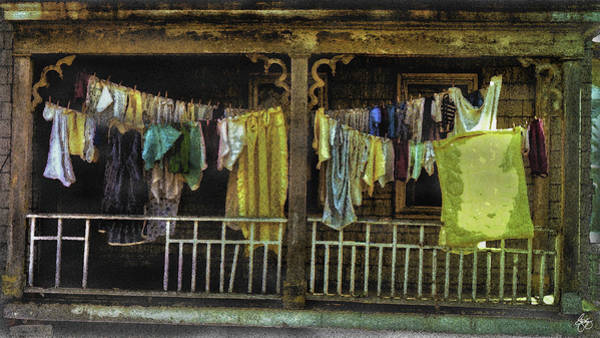 Photograph - American Gothic Washday by Wayne King