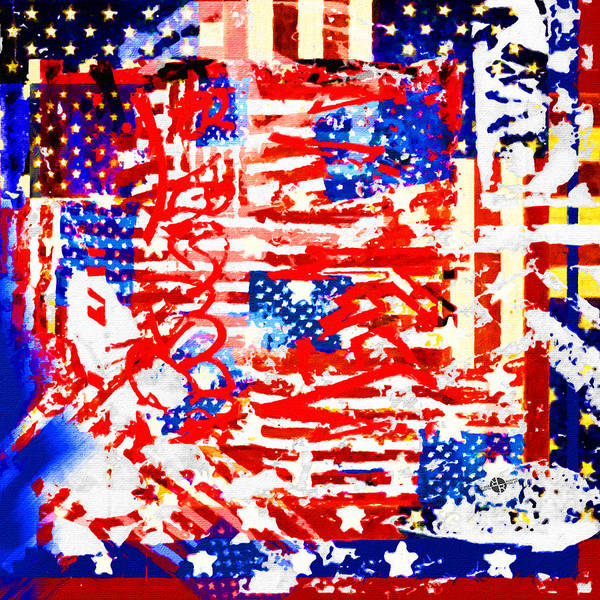 Painting - American Graffiti Presidential Election 2  by Tony Rubino