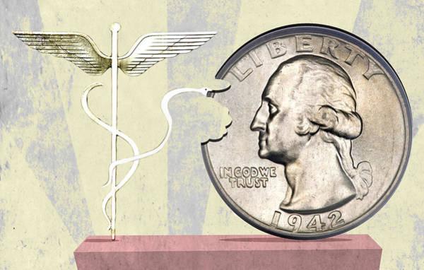 Insurance Digital Art - American Healthcare by Steve Dininno