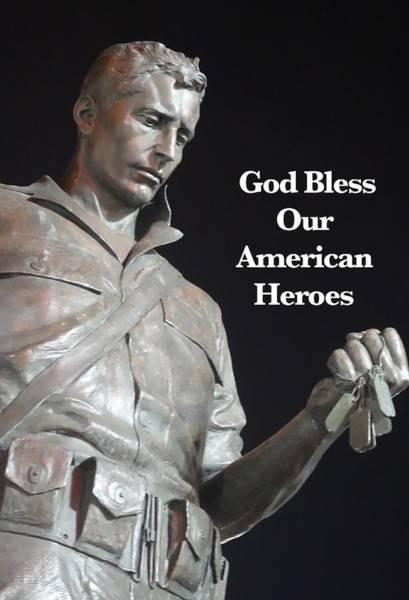 Photograph - American Hero by Joan Reese