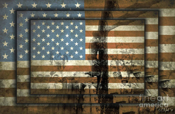Digital Art - American History 101 by Walter Neal