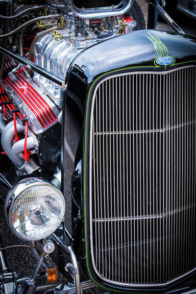 Photograph - American Hot Rod by Stewart Helberg