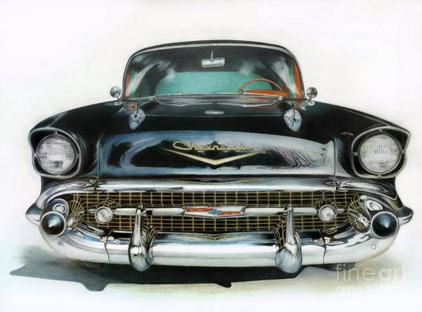 Drawing - American Icon by David Neace