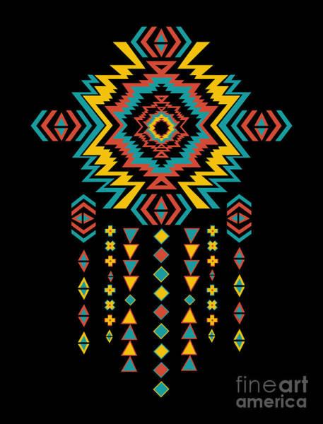 Wall Art - Digital Art - American Indian 2 by Mark Ashkenazi