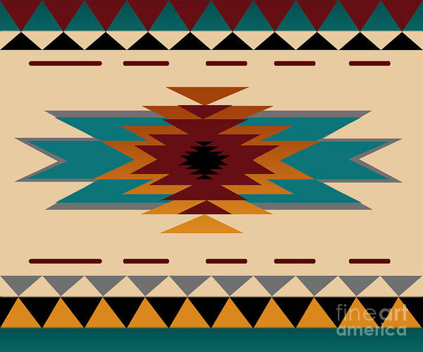 Wall Art - Digital Art - American Indian by Mark Ashkenazi
