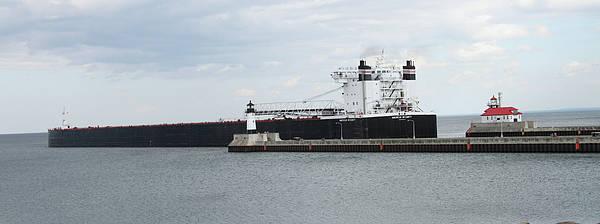 Wall Art - Photograph - American Integrity Ship by Lori Tordsen