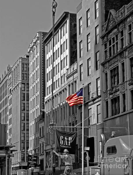 Wall Art - Photograph - American Iron Worker by Michael Tidwell