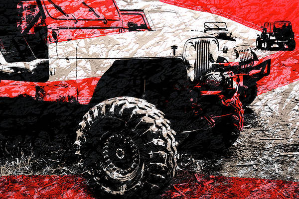 Photograph - American Jeep Cj - Boulder Approved Mud Bog Ready by Luke Moore