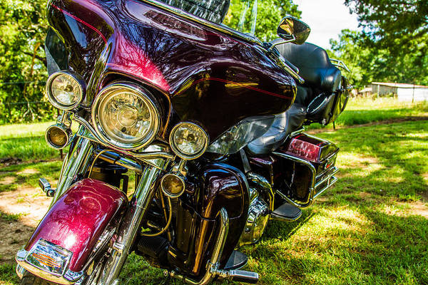 Photograph - American Legend - Motorcycle by Barry Jones