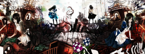 Design Digital Art - American Mcgee's Alice by Super Lovely