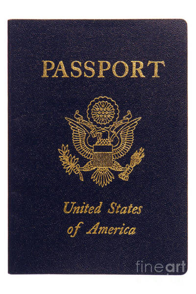 Photograph - American Passport by Olivier Le Queinec