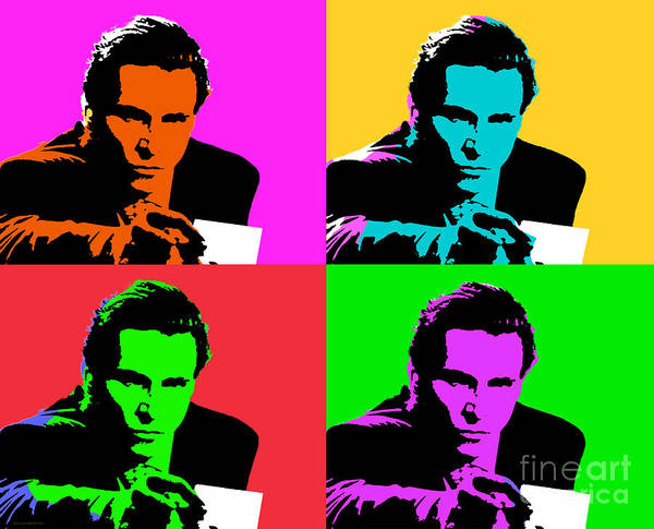Digital Art - American Psycho Pop Art by Jean luc Comperat