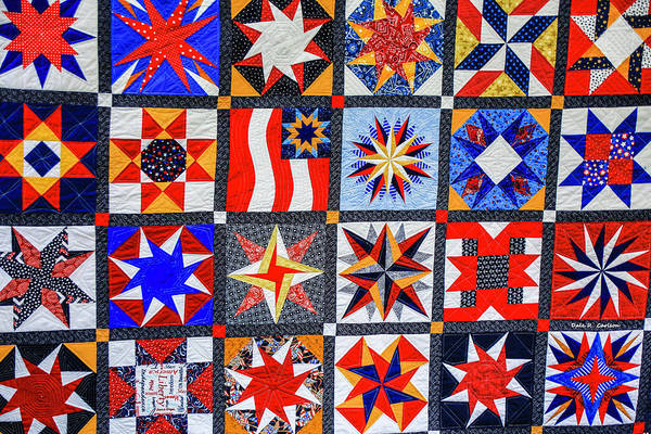 Photograph - American Quilt by Dale R Carlson