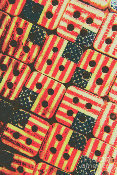 Making Wall Art - Photograph - American Quilting Background by Jorgo Photography - Wall Art Gallery