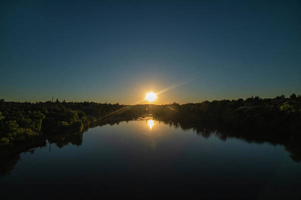 Photograph - American River Sunrise by Jonathan Hansen