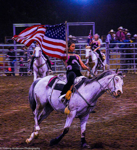 Norco Photograph - American Rodeo by Tommy Anderson