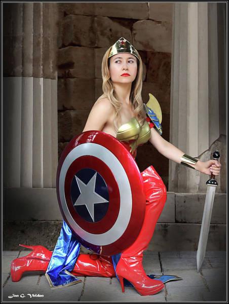 Photograph - American Shield by Jon Volden