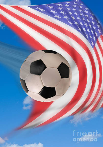 Worldcup Photograph - American Soccer. by W Scott McGill