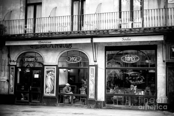 Photograph - American Soda Barcelona by John Rizzuto