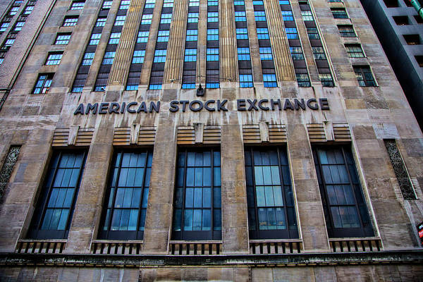 Wall Art - Photograph - American Stock Exchange by Garry Gay