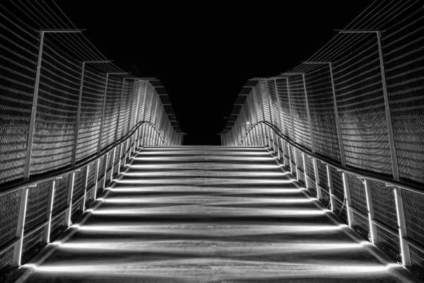Photograph - American Tobacco Trail Bridge  by Ben Shields