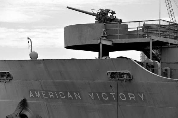 Battle Of The Atlantic Wall Art - Photograph - American Victory Ship by David Lee Thompson
