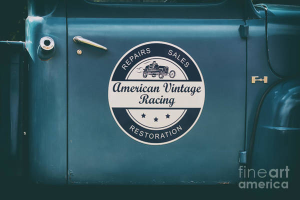 Wall Art - Photograph - American Vintage Racing by Tim Gainey