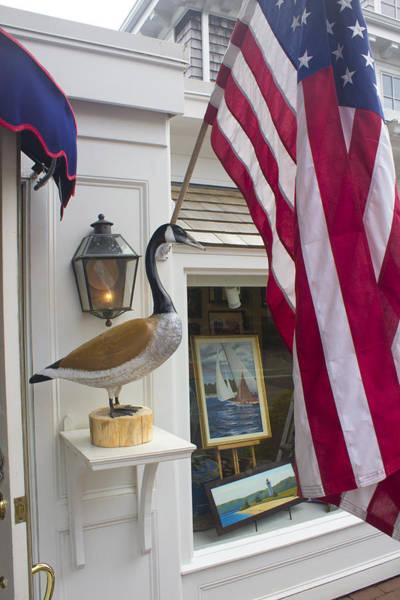 Photograph - American Flag - Americana Series 07 by Carlos Diaz